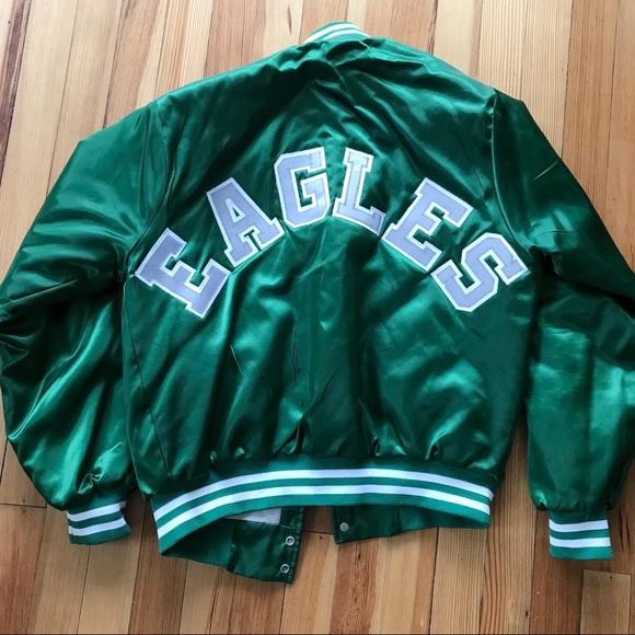18fb8bc8 🦅 Philadelphia Eagles Chalkline Bomber Jacket 🦅